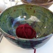 Pottery - yarn bowls